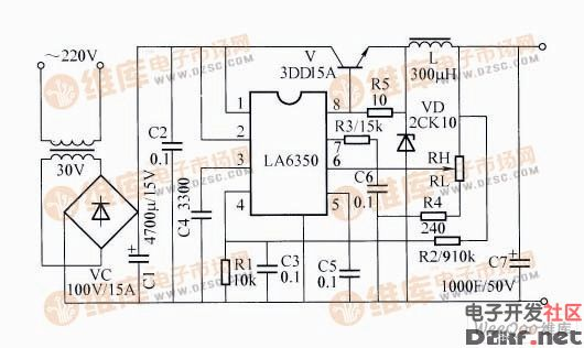 大功率充电机电路图