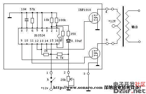 电鱼机制作线路图--电路图-技术资料-华强电子网