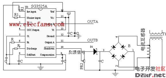 sg3525的应用电路