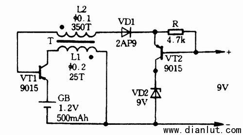 三极管升压电路图全集