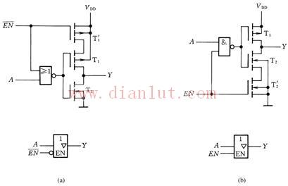 cmos三态门电路结构