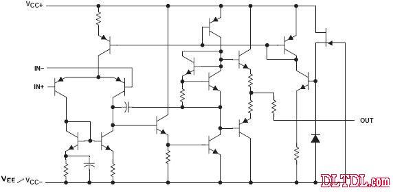 4558内部电路图
